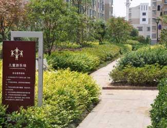 南京小区绿化 高档小区绿化